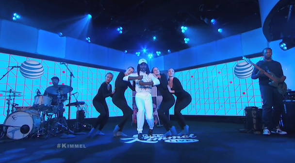 """Watch Blood Orange And Samantha Urbani Perform """"It Is What It Is"""" On Kimmel"""