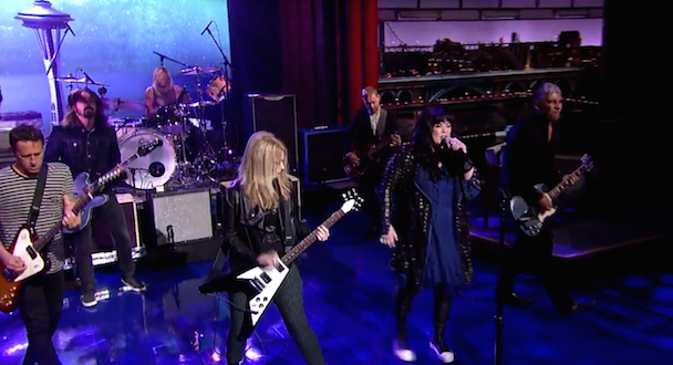 Watch Foo Fighters Play With Heart On Letterman