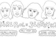 Stream Girlpool & Slutever's Split EP