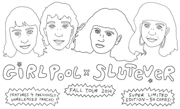 Stream Girlpool & Slutever's Split EP