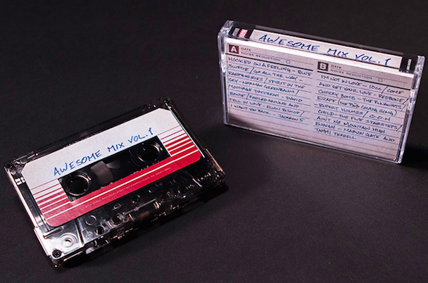 Guardians Of The Galaxy tape