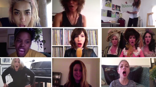 Watch Alexis Krauss, Carrie Brownstein, Cass McCombs, Eleanor Friedberger, Sia, & More In Joan Jett's Voting For Women's Rights PSA