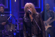Watch Lucinda Williams Play With The Roots On <em>Fallon</em>