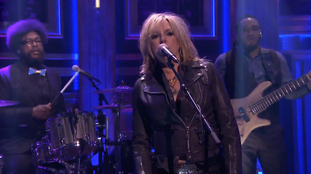 Watch Lucinda Williams Play With The Roots On Fallon
