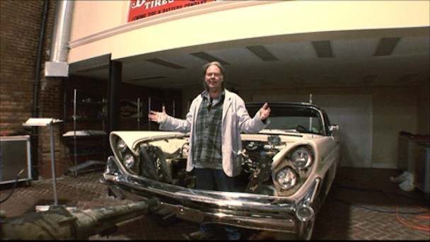 Automotive Songwriter/Author/Inventor Neil Young Announces Art Show For His Car Watercolors
