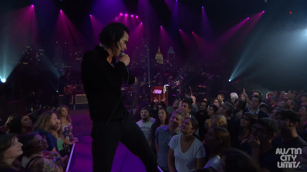 """Watch Nick Cave & The Bad Seeds Play """"Stagger Lee"""" In An Austin City Limits Web Exclusive"""