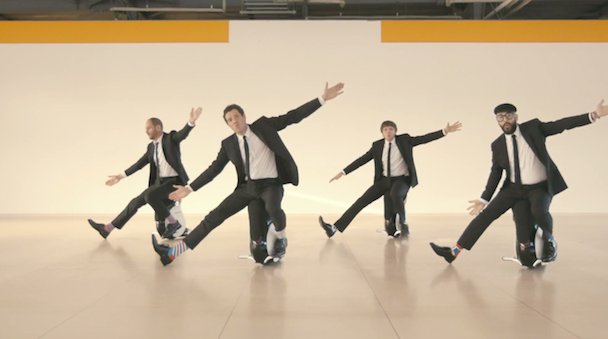 "OK Go - ""I Won't Let You Down"" Video"