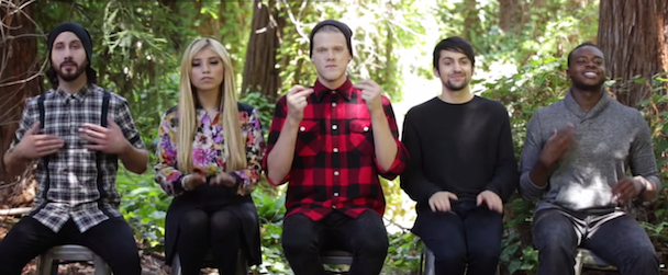 watch the worlds most popular a cappella group cover fleet foxes in the woods