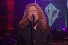 Watch Robert Plant On Colbert