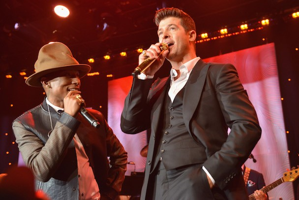 Robin Thicke And Pharrell Lose First Legal Battle Against Marvin Gaye's Estate