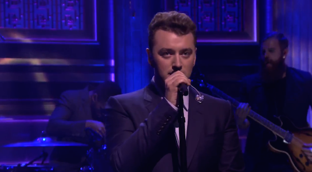 """Watch Sam Smith Sing """"I'm Not The Only One"""" On The Tonight Show"""