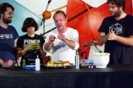 Watch Screaming Females Make Halloween Cupcakes With David Yow