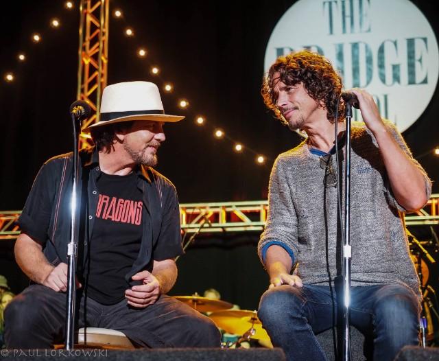 Eddie Vedder & Chris Cornell @ Bridge School Benefit 2014