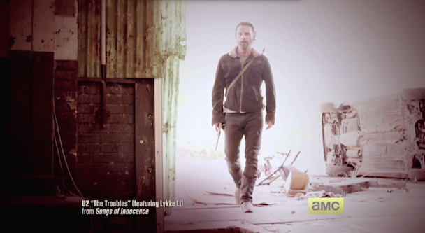 U2 & Lykke Li Song Sneaked Into Walking Dead Promos
