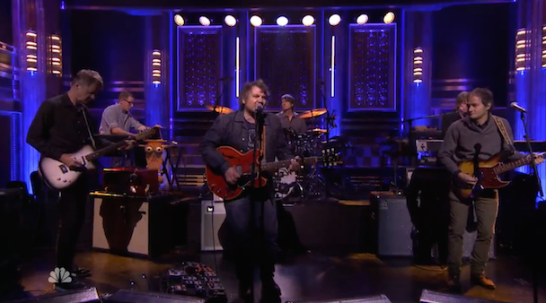 Watch Jeff Tweedy Play Charades With Ewan McGregor, Wilco Perform On The Tonight Show