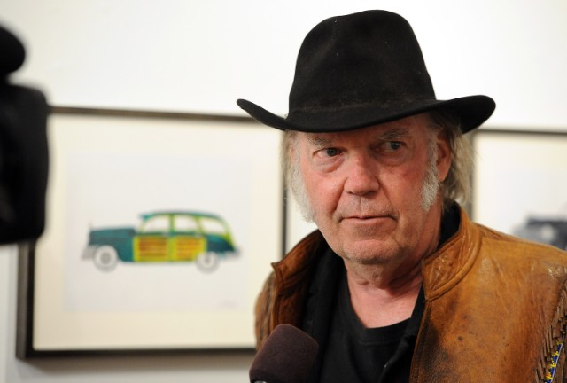 Neil Young Opening Night Reception For