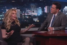 Watch Courtney Love Tell Jimmy Kimmel About Making Up With Dave Grohl