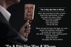 """David Bowie – """"'Tis A Pity She Was A Whore"""""""