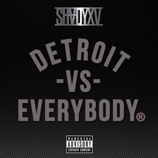 "Eminem – ""Detroit Vs. Everybody"" (Feat. Royce Da 5'9″, Big Sean, Danny Brown, Dej Loaf & Trick Trick)"