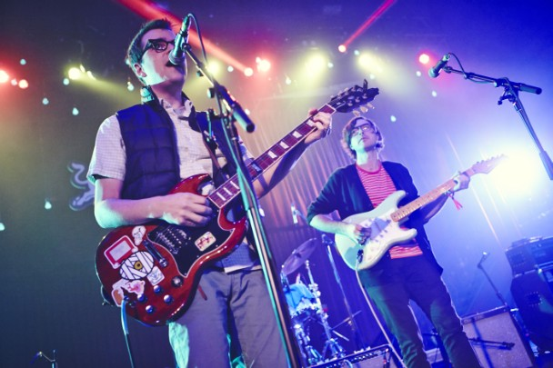 "Watch Rivers Cuomo Join Real Estate On Weezer's ""No Other One"" In L.A."