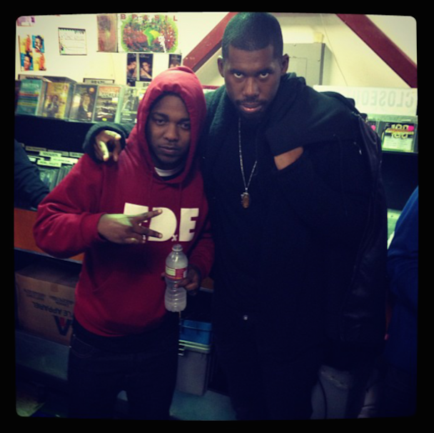 "Hear Kendrick Lamar's Unreleased Verse From Flying Lotus' ""Eyes Above"""