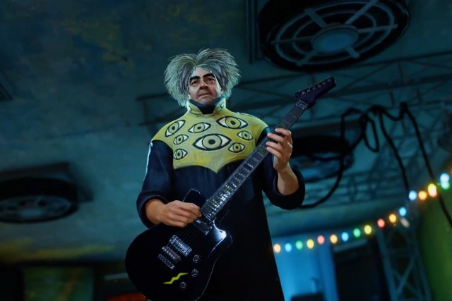 King Buzzo in Sunset Overdrive