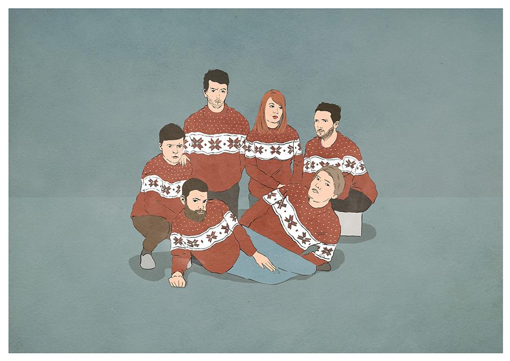 Los Campesinos! Christmas Promo