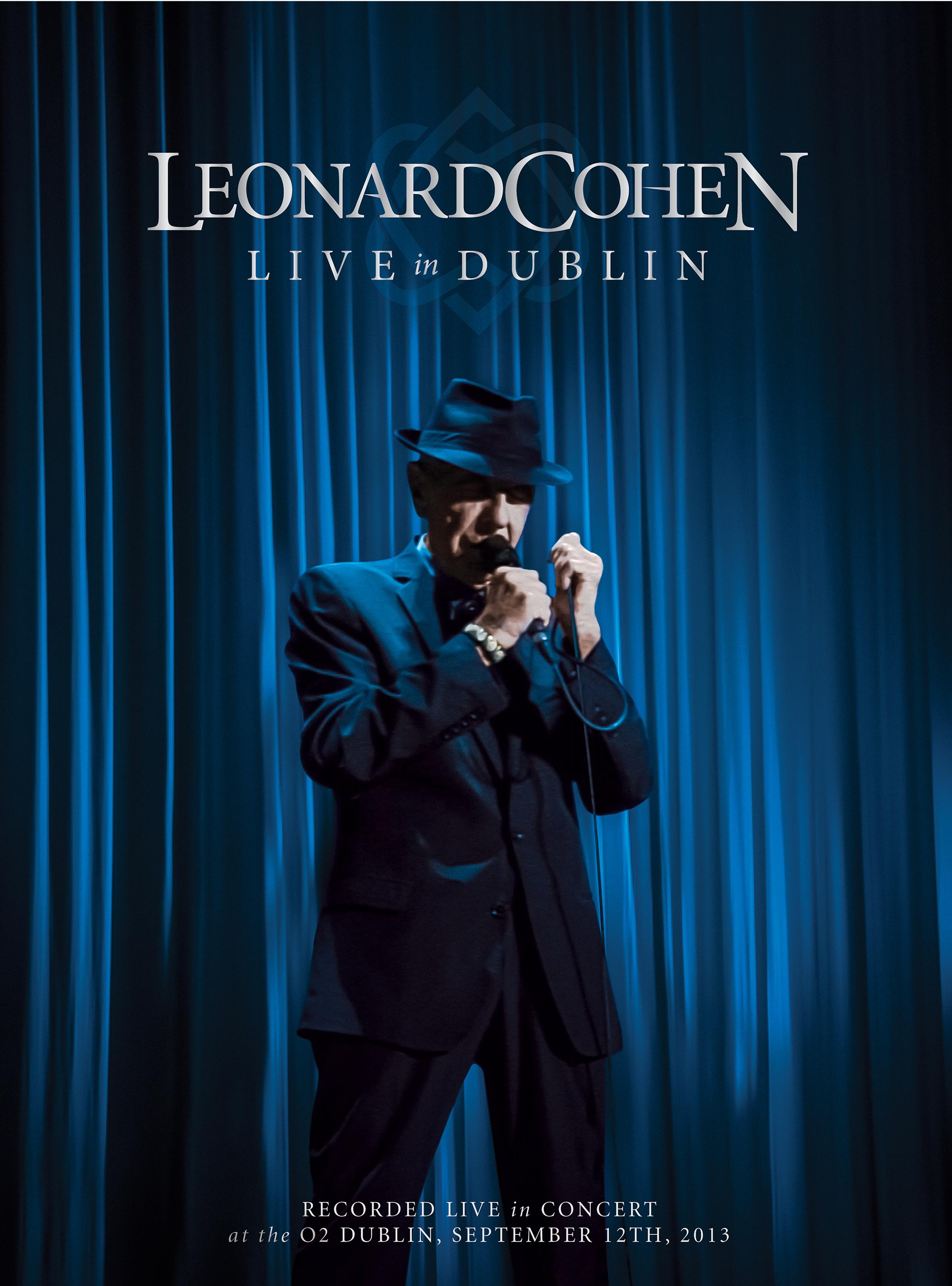 Leonard Cohen Live in Dublin DVD cover
