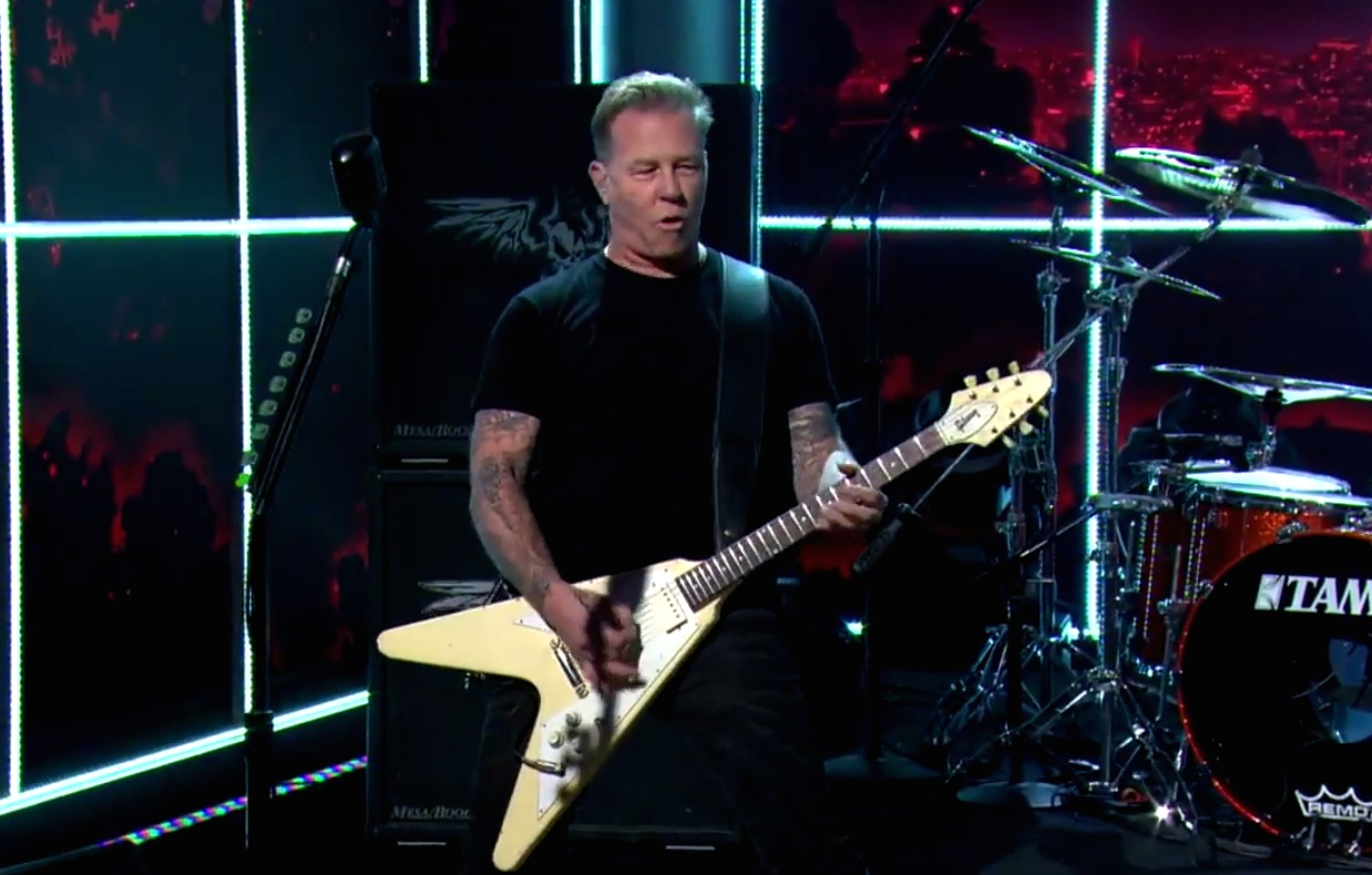 Watch Metallica Resuscitate A <em>Kill &#8216;Em All</em> Oldie On <em>The Late Late Show</em>