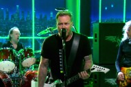 Watch Metallica Play &#8220;For Whom The Bell Tolls&#8221; On <em>The Late Late Show</em>