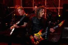 Metallica on Ferguson