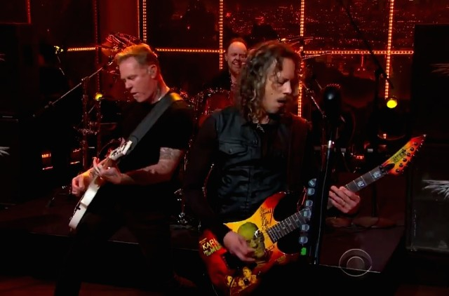 Metallica on Ferguson
