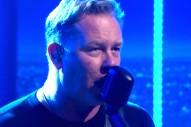 Watch Metallica Play &#8220;Enter Sandman&#8221; On <em>The Late Late Show</em>