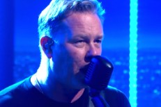 Watch Metallica Play &#8220;Enter Sandman&#8221; On <em>The Late Late Show</em>