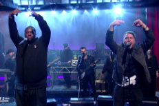 Run The Jewels and Boots on Letterman