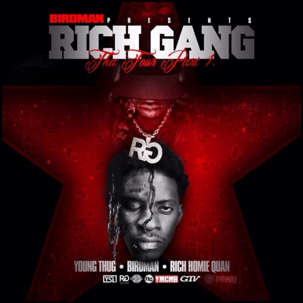 Young Thug, Birdman, & Rich Homie Quan - <em>Rich Gang: Tha Tour Part 1</em> (Cash Money)