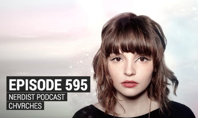 Lauren Mayberry on the Nerdist podcast