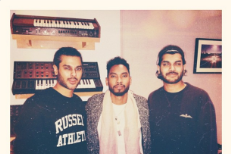 Miguel with Jai Paul & AK Paul