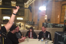 Chvrches with Matt Pinfield for NY Live In Concert
