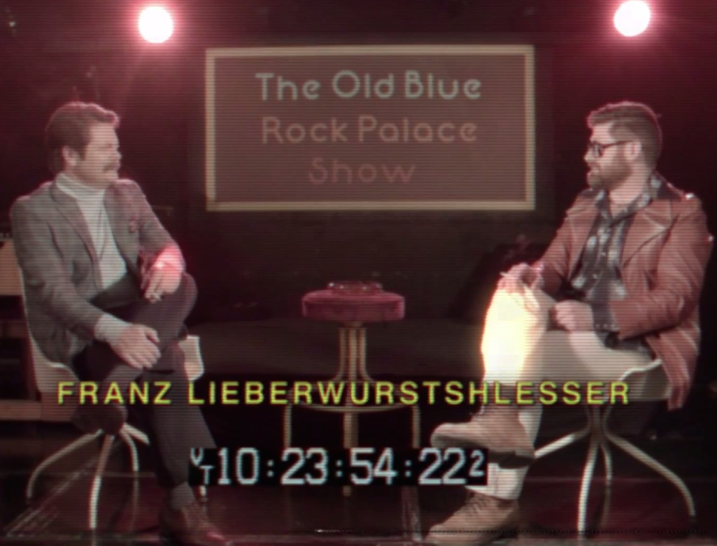 """Preview The Decemberists' '70s Talk-Show Video For """"Make You Better,"""" Starring Nick Offerman"""