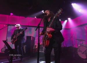 Watch The New Basement Tapes Play Two Songs On <em>Kimmel</em>