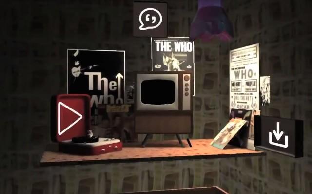 The Who virtual reality app