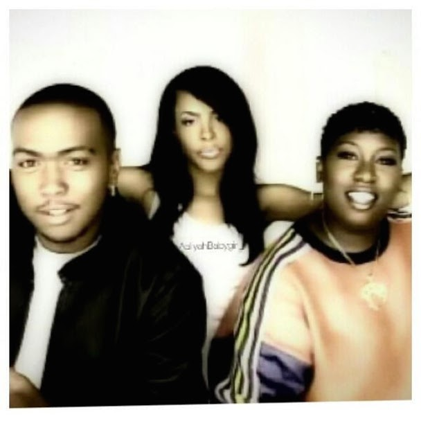 Timbaland and Aaliyah