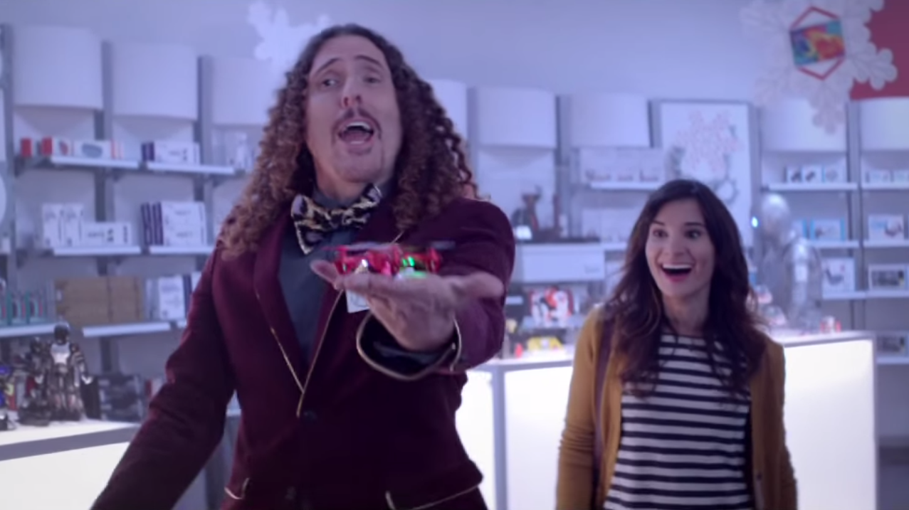 Watch Weird Al Star In A Commercial For Radio Shack, Which Still Exists