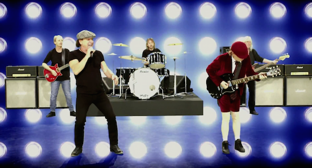 ac dc play ball video stereogum. Black Bedroom Furniture Sets. Home Design Ideas