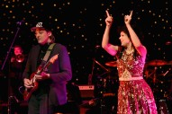 """Watch Arcade Fire's Win Butler & Regine Chassagne Cover Talking Heads' """"Slippery People"""" With Mavis Staples"""