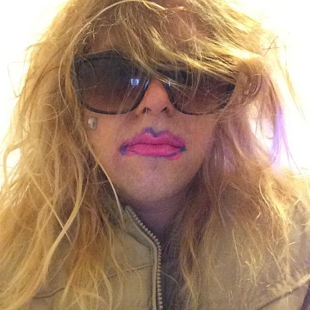 Ariel Pink In Amanda Bynes Costume