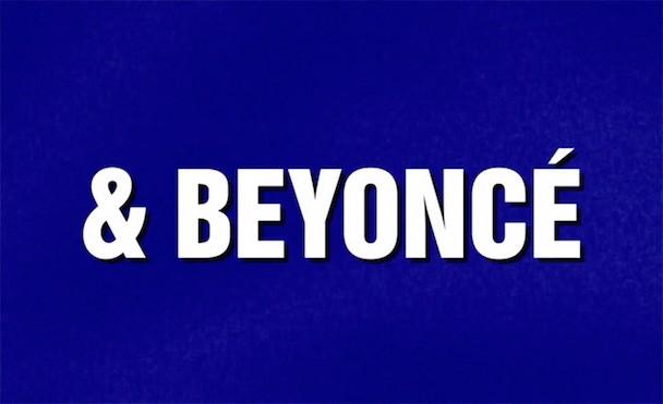 Beyoncé Got Her Own Category On Jeopardy!
