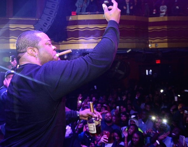 Watch Busta Rhymes' Bloody, Ill-Advised Stage Dive