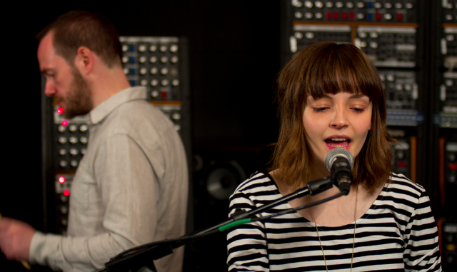 "Watch Chvrches Rework ""The Mother We Share"" In Moog Sound"